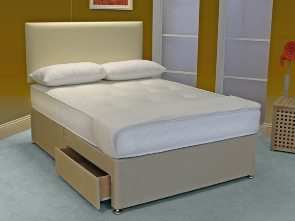 Small double memory elite for Memory foam double divan bed sale
